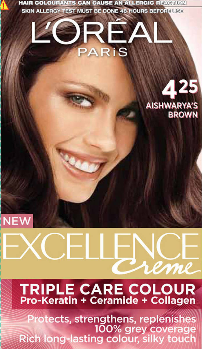 L Oreal Excellence Creme Shade No 4 25 Thesensation Lk A Majestic Makeover