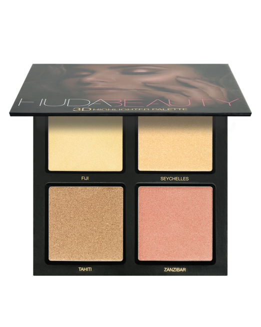 Huda Beauty 3D HIGHLIGHTER PALETTE – GOLDEN SANDS 3