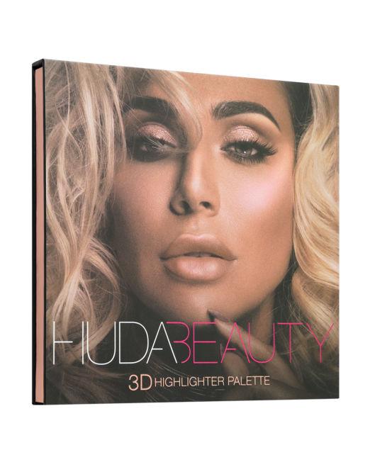 Huda Beauty 3D HIGHLIGHTER PALETTE – PINK SANDS