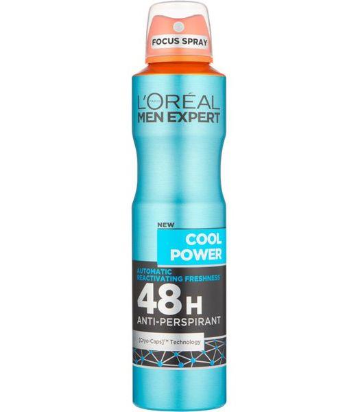 L'OREAL Men Expert 48H Cool Power Anti-Perspirant Deodorant Spray