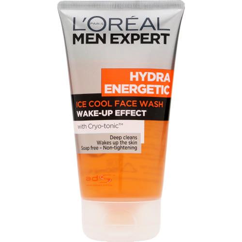 L'Oreal Men Expert Hydra Energetic Skin Awakening Icy Cleansing Face Wash