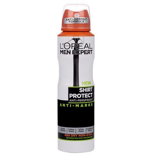 L'Oreal Men Expert Shirt Protect Anti Marks Antiperspirant Deodorant Spray