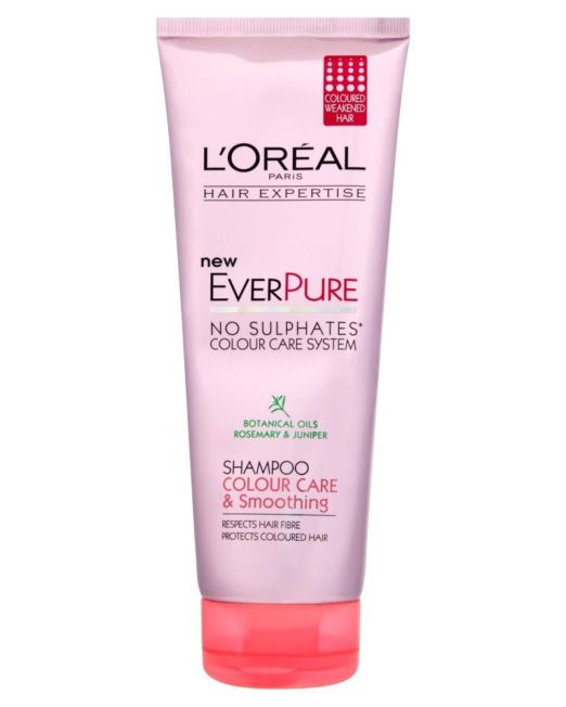 L'Oreal Paris Hair Expertise EverPure Colour Care and Smoothing Shampoo