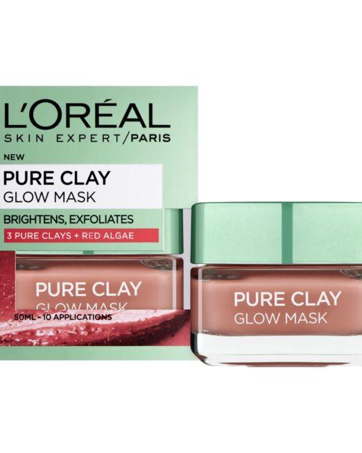 L'Oreal Paris Pure Clay glow mask