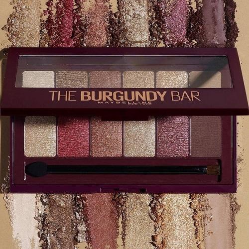 Maybelline Burgundy Bar Eyeshadow Palette 2