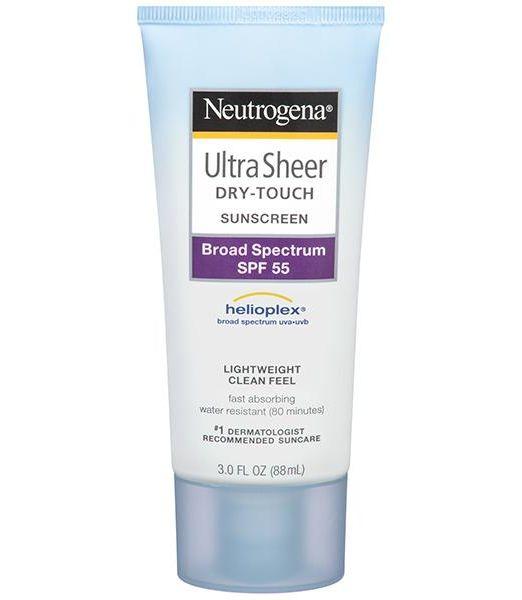 Neutrogena Ultra Sheer Dry-Touch Sunscreen Broad Spectrum