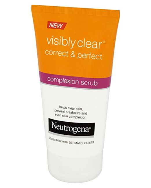 Neutrogena Visibly Clear - Correct & Perfect Complexion Scrub