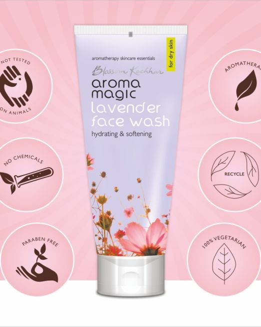 Aroma Magic Lavender Face Wash For Dry Skin 100ml
