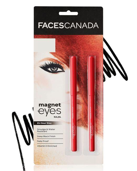 Faces Canada Magneteyes Kajal - Deep Black 0.35g