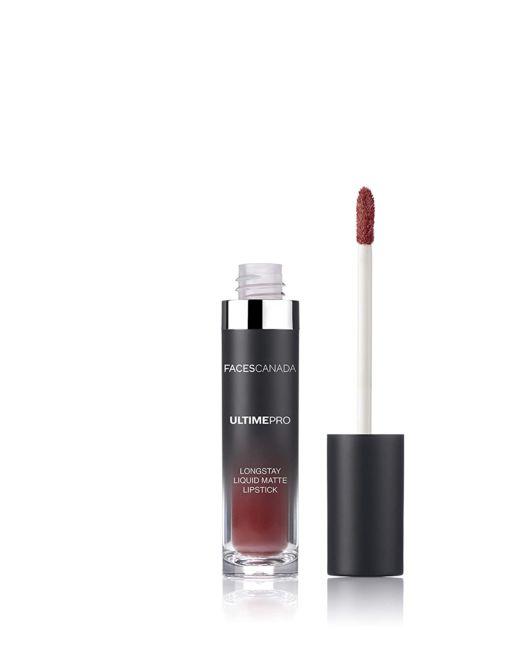 Faces Canada Ultime Pro Longstay Liquid Matte Lipstick 6g