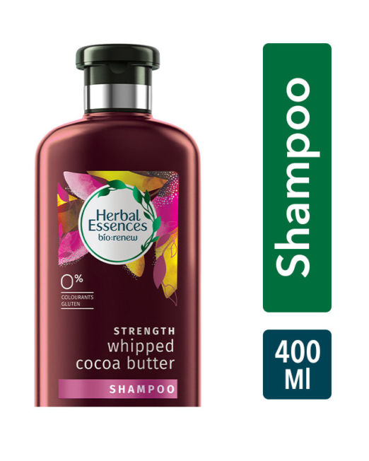 Herbal Essences Cocoa Butter Shampoo For Hair Strengthening - No Parabens, No Colourants 400ml