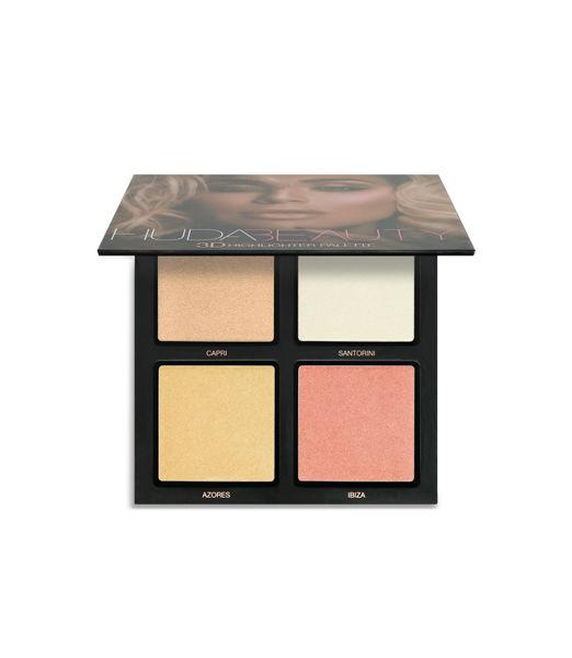 Huda Beauty 3D Cream and Powder Highlighter Palette 31.5g