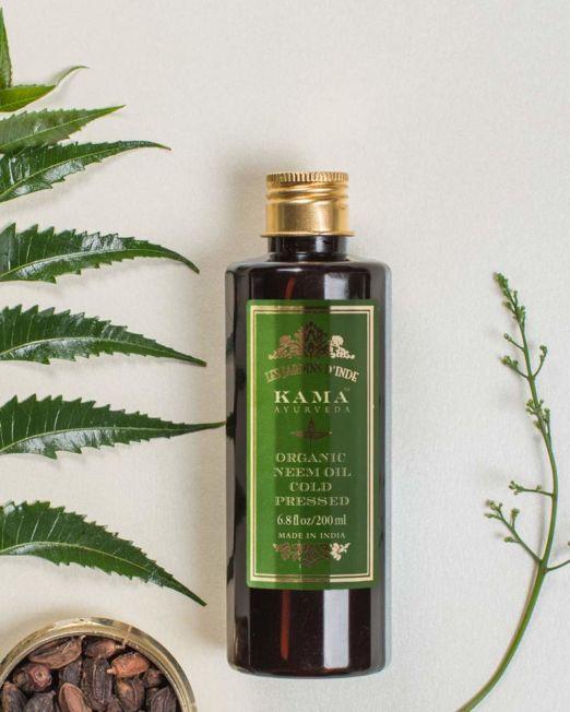 Kama Ayurveda Cold Pressed Organic Neem Oil