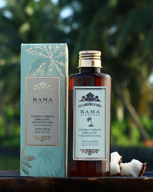 Kama Ayurveda Extra Virgin Organic Coconut Oil