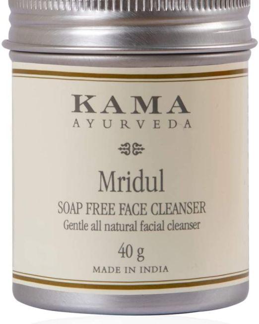 Kama Ayurveda Mridul Soap Free Face Cleanser 40g