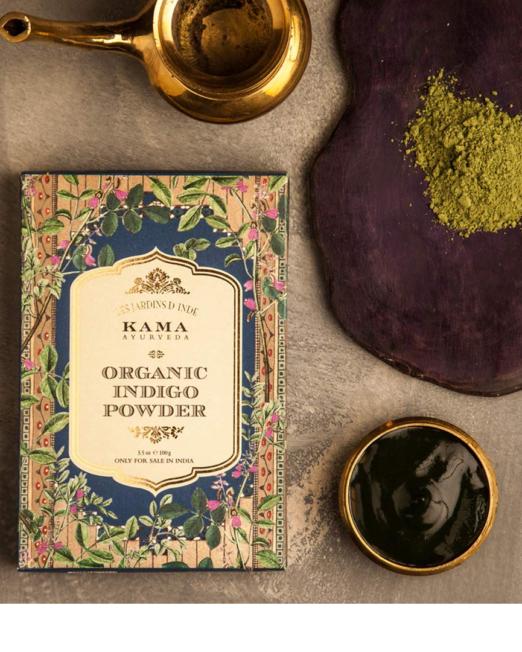 Kama Ayurveda Organic Henna Powder 100g