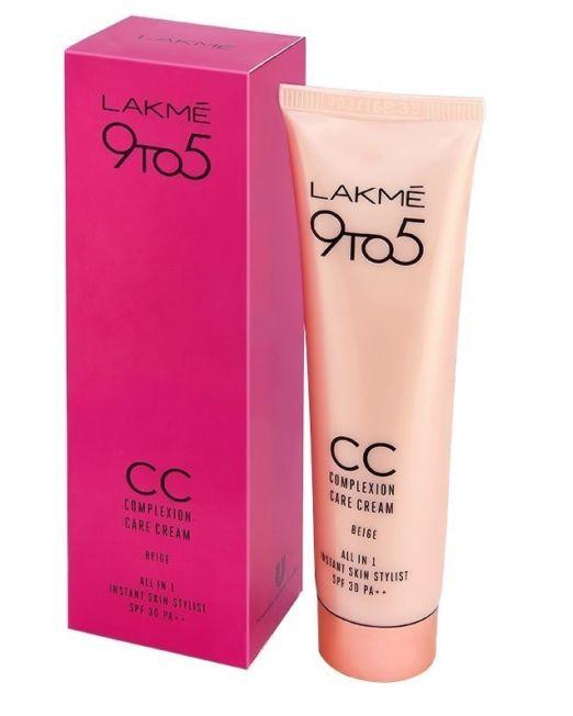 Lakme 9 To 5 Complexion Care Face CC Cream SPF 30 PA