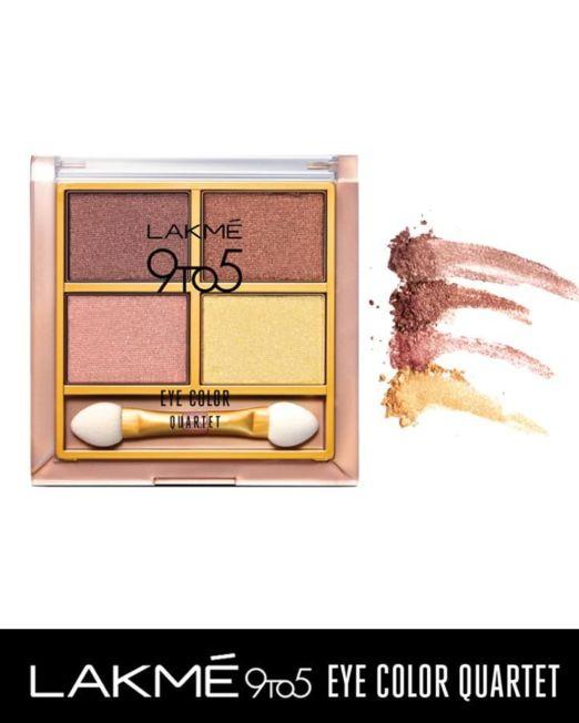 Lakme 9 to 5 Eye Color Quartet Eye Shadow 7g