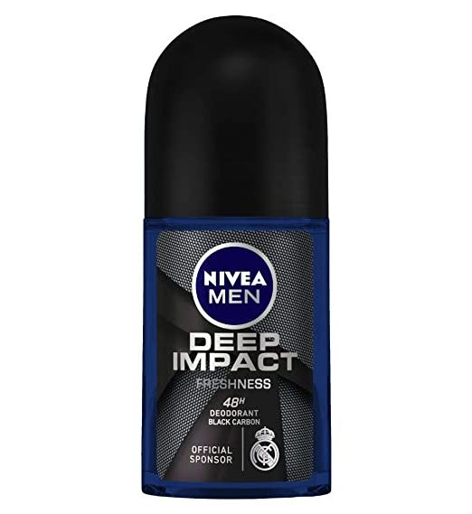 NIVEA Men Deodorant Roll On, Deep Impact 50ml