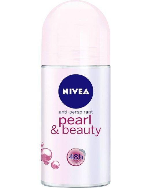 NIVEA Women Deodorant Roll On, Pearl & Beauty 25 ml