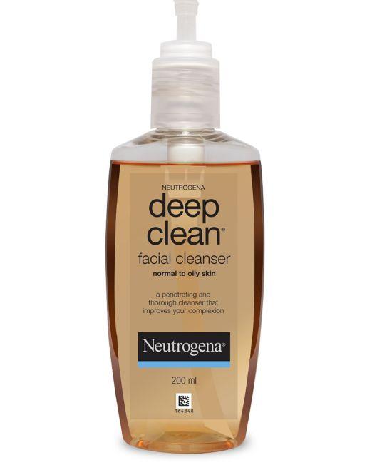 Neutrogena Deep Clean Facial Cleanser