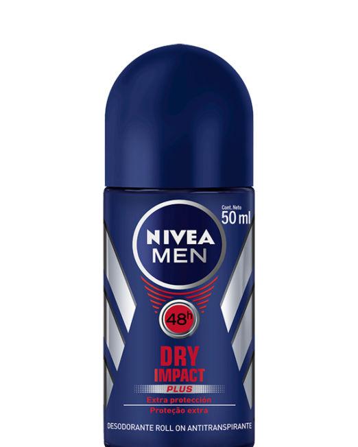 Nivea for Men Dry Impact Antiperspirant Deodorant Roll-on 50ml