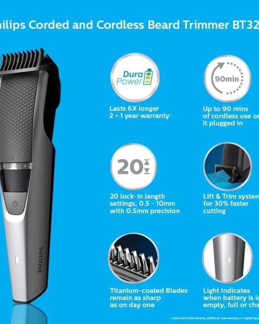 Philips Beard Trimmer (BT3221-15)