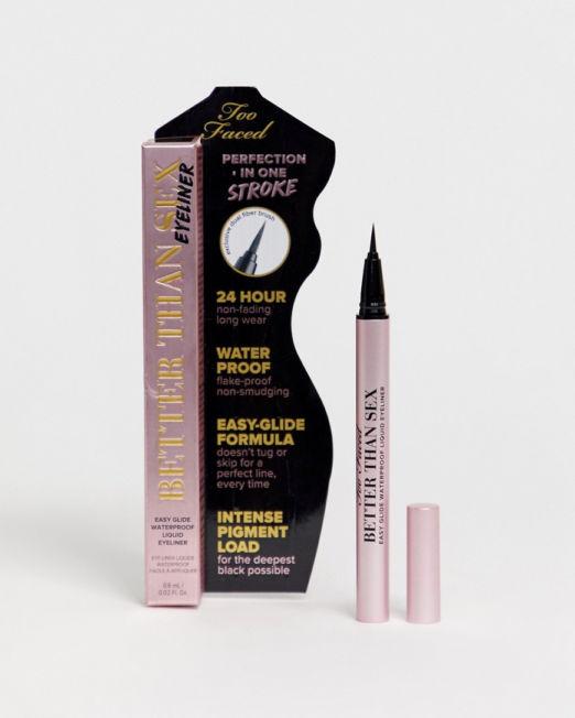 Too Faced Better Than Sex Liquid Eye Liner - Deepest Black 0.6ml