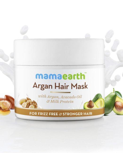 Mamaearth Argan Hair Mask With Argan, Avocado Oil & Milk Protein 200g