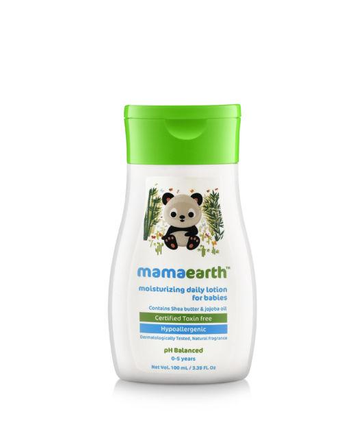 Mamaearth Daily Moisturizing Baby Lotion 100ml
