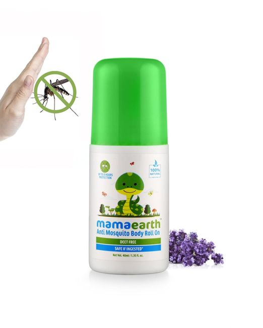 Mamaearth Natural Anti Mosquito Body Roll On 40ml