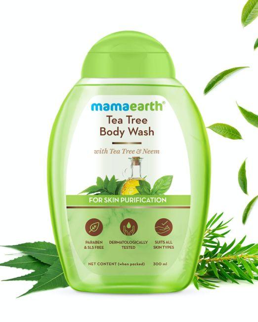 Mamaearth Tea Tree Body Wash With Tea Tree & Neem For Skin Purification 300ml