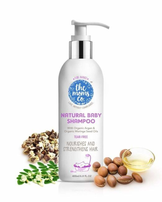 The Moms Co. Tear-Free Natural Baby Wash
